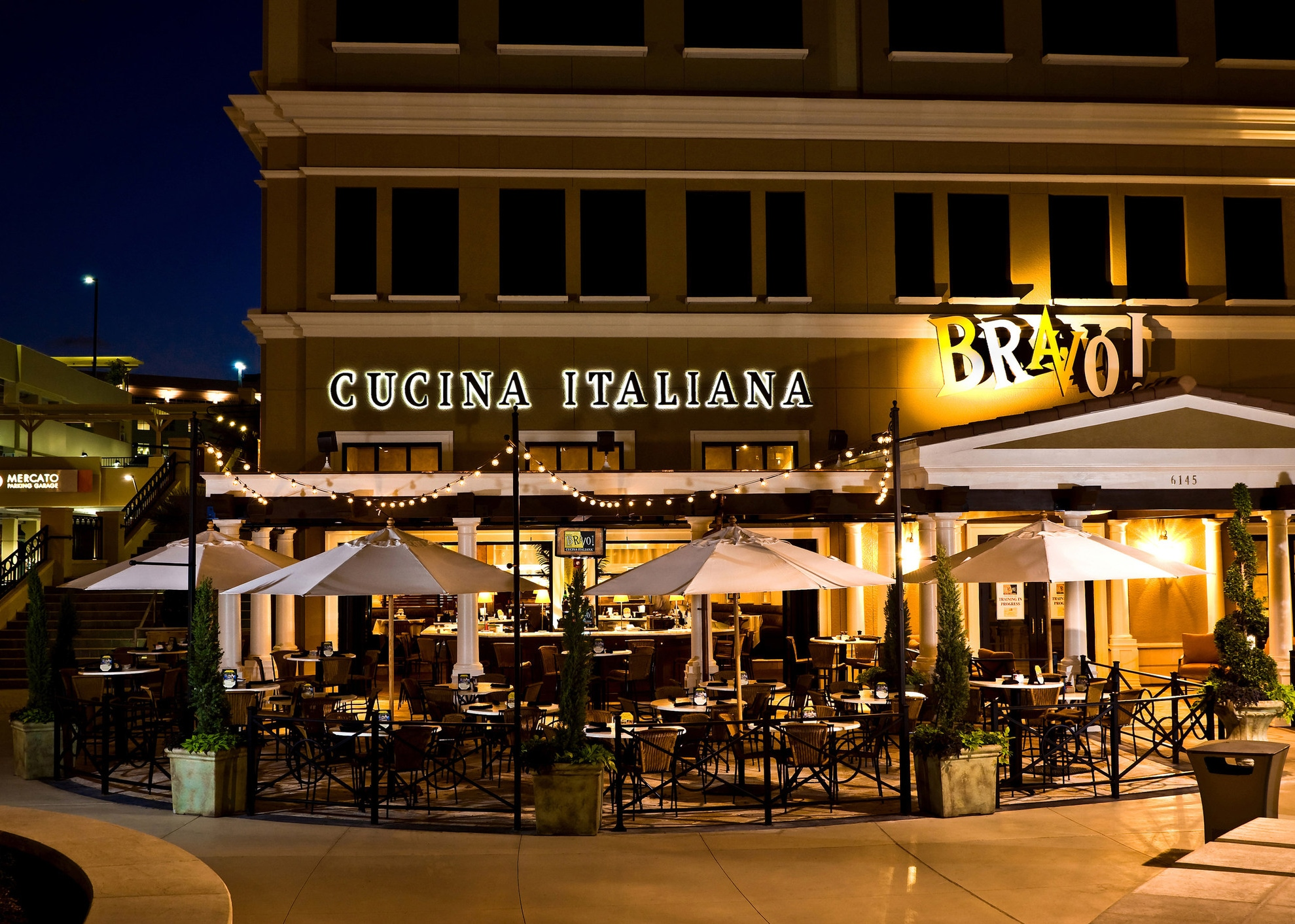 We The Italians Bravo Cucina Italiana At Mercato In Naples Florida Recently Named One Of Opentable S Top 100 Hot Spot Restaurants America