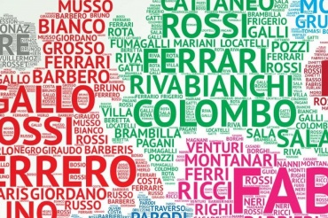 We The Italians | Italy's most common last names: is yours